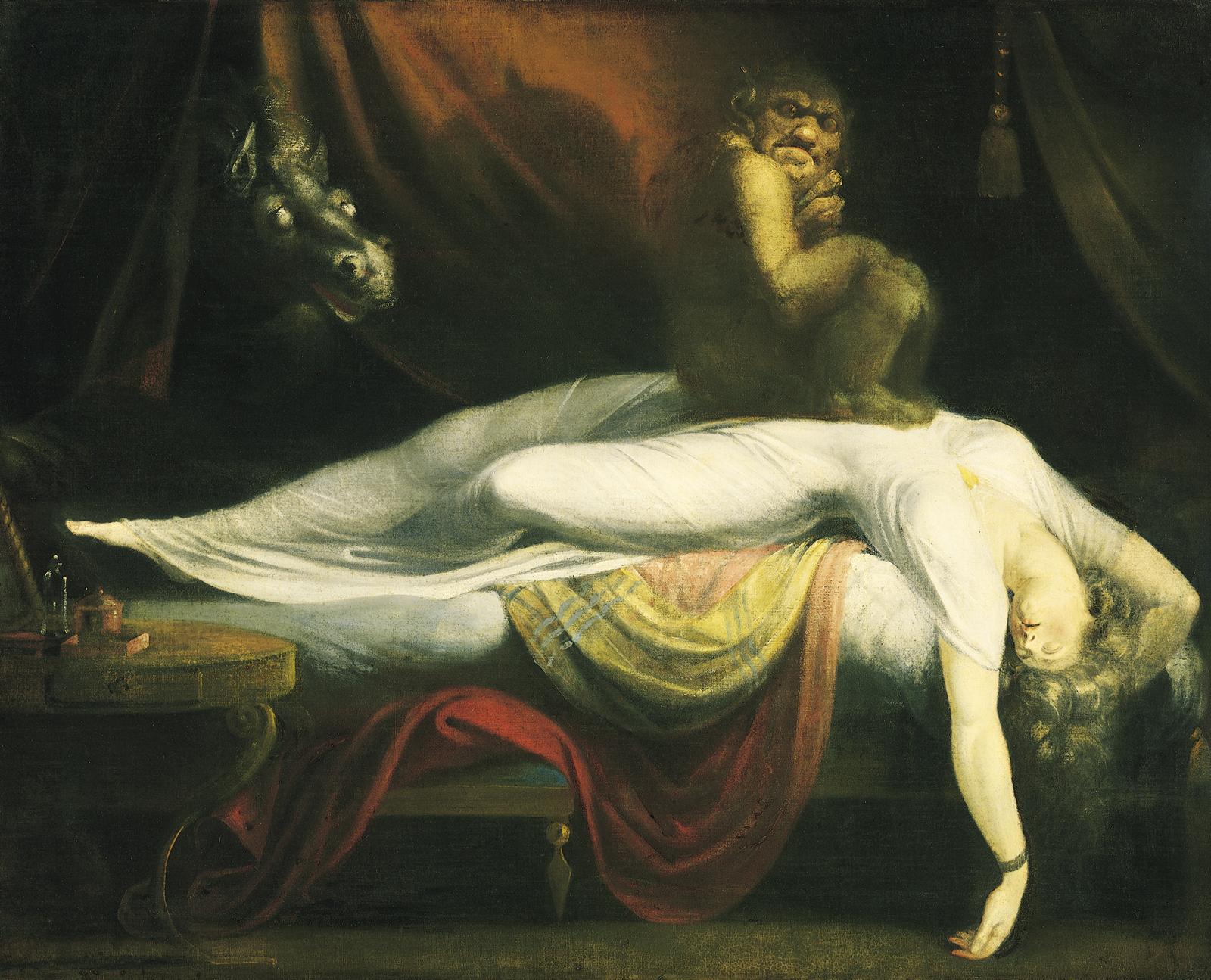 "John Henry Fuseli, ""The Nightmare"" (1781)"