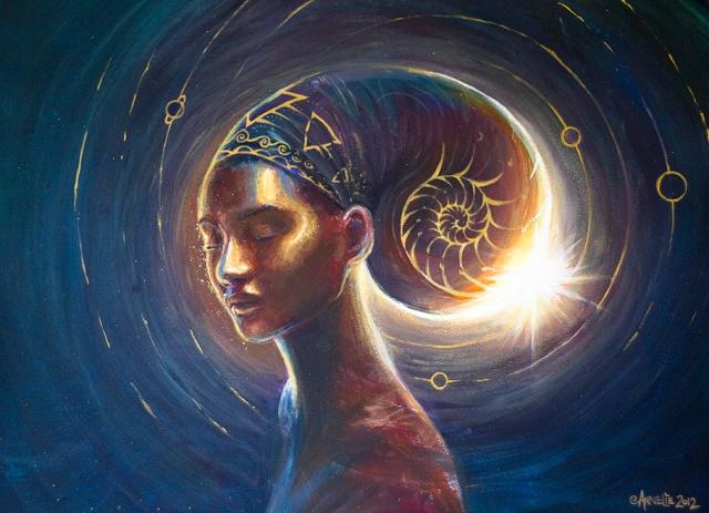 Feminine Divine by Annelie Solis