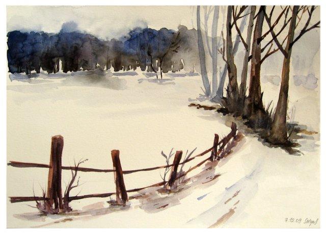 """""""Village Fence"""" by Solgas (dA)"""